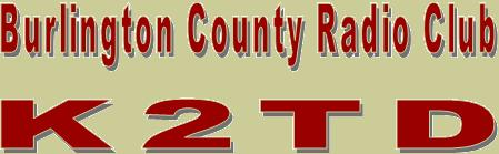 Burlington County Radio Club-K2TD header